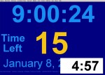 Clock Countdown Timer